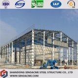 Construction en acier préfabriquée d'usine de construction avec de l'acier lourd