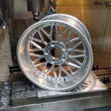 Protótipo plástico das peças do alumínio
