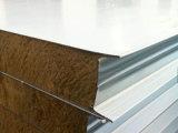 high-density панель сандвича шерстей утеса 120kg/M3, толщина 50mm, 75mm, 100mm