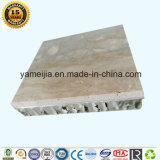 Composto de pedra natural fino super com os painéis de alumínio do favo de mel