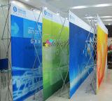 Van de stoffen POP omhooggaande achtergrond vrije bevindende Banner als achtergrond van uitstekende kwaliteit
