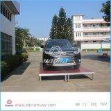 Estágio do estacionamento do carro