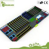 Parque de interior nuevo del trampolín del sitio grande aprobado del TUV del Dreamland para la venta
