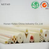Tubo de cerámica del sólido de Rod del tubo del tubo del alúmina al por mayor