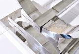 Dinningroomセットのための現代ステンレス鋼の足の大理石のダイニングテーブル