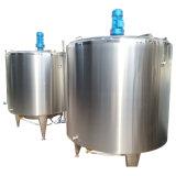 Vergistende Tank van de Melk van de Stoom van het Roestvrij staal 1000L van het voedsel de Sanitaire