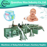 Machine automatique de couche de bébé de forme d'I avec du ce (YNK400-HSV)