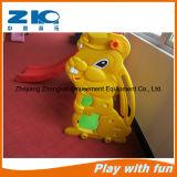 Тип пластичные игрушки скольжения скольжения крытого кролика спортивной площадки малышей пластичный и качания