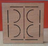 De houten Acryl Scherpe Machine van de Laser van Co2 Dieboard