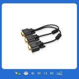 Fil de l'ordinateur Cable/VGA de câble du VGA de prix bas