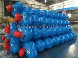 Aufblasbares gedichtetes sich hin- und herbewegendes Wasser-Spiel, aufblasbarer Klecks-Überbrückungsdraht für kundenspezifische Größe