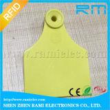 Tag de orelha animal de RFID para o gado para o seguimento animal