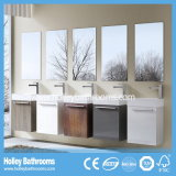 Estilo Europeo MDF multicolor vendedor caliente del cuarto de baño moderno Gabinete (BF128N)