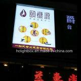 널을 광고하는 LED 옥외 Backlit 광고 이용된 LED 옥외 Backlit 프레임