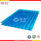 10 Jahre Warranty Tinted 4mm bis 25mm Blue Polycarbonate Sheet mit UVProtection