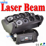Освещение спайдера зеленого лазерного луча диско Moving головное