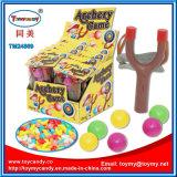 Plastikslingshot-Bogen-Pfeil-Spiel-Spielzeug mit Süßigkeit