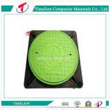 FRP articulado GRP Composite Manhole Cover e Frame
