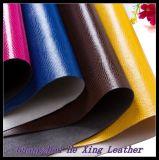 1.2 de Aitificial do PVC milímetros novos do couro do plutônio para sapatas do saco de mão