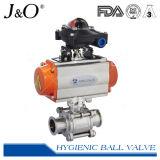 Пневматический гигиенический шариковый клапан 3PCS
