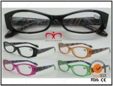 Pouch (MRP21661)の女性Fashion Plastic Eyewear Eyewearframe Reading Glasses