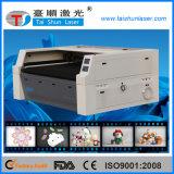 Máquina de estaca principal dobro do laser do CO2 para brinquedos do luxuoso
