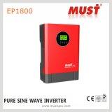inversor de alta frecuencia de la potencia 5kVA de la red para el uso casero