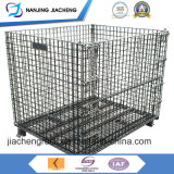 Contenitore ricoperto polvere pieghevole della rete metallica fatto in Cina