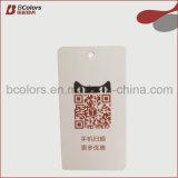 Alta qualidade e bom Hangtag do papel do cartão do preço para o vestuário