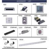 Controllo di accesso impermeabile dell'impronta digitale del metallo per i portelli automatici