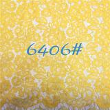 Красивейшая ткань шнурка цветка 2016 для женщин одевает (6406)