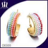 Spätester Entwurf der Perlen-Ohrringe
