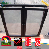 PVC nero Windows, girata Windows di colore di inclinazione di UPVC