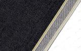 черная жесткая 14oz и твердая ткань 14oz 2006A джинсыов джинсовой ткани