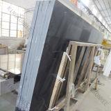 Камень кварца сляба строительного материала черный искусственний мраморный