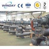 Refroidisseur d'eau industriel refroidi par air de vis de qualité