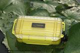 Scatola di plastica impermeabile chiudibile a chiave esterna di caso di immagazzinamento in la casella di sicurezza