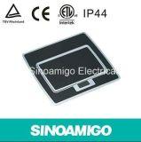 Suelo impermeable Caja de salida con enchufe universal 10A