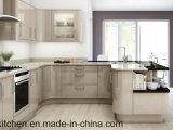 現代デザイン高く光沢のあるアクリルの台所家具