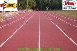 goma prefabricada pista de atletismo de material en espiral