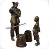 Sculpture en statue/en bronze en bronze extérieure (IO-s009)