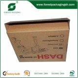 Caja de cartón de envío con mango de plástico