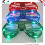 Glazen van de Flits van de plastic LEIDENE de Leuke Vorm van Blinden voor Dansen/Partij