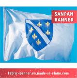 Напольная цена по прейскуранту завода-изготовителя резвится флаг, рекламируя флаг