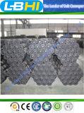 Ruedas locas de acero de los rodillos del rodillo del transportador de correa para el sistema de manipulación de materiales