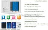 Électrocardiographe ECG (ECG-E305) de la Manche de Digitals trois