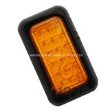 LED Truck Amber Rear Direction Indicator Lamp 12V/24V Outline Light