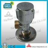 Válvula de suministro de ángulo de plomería de latón (YD-G5021)