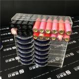 Organisateur acrylique de renivellement pour les palettes, le rouge à lievres, les balais ou le vernis à ongles