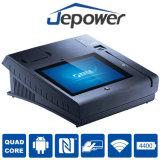 (q) Jepower T508Aプリンターが付いている人間の特徴をもつOSのタッチ画面の電子式金銭登録器